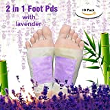 Foot Pads Upgraded 2 in 1 Patches,Lavender, Rose, Ginger, Green Tea,...