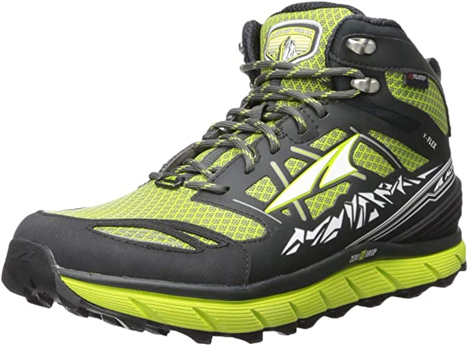 Altra Men's Lone Peak 3.0 Mid Neo Running chaussures (9.5 D(M) US, Lime)