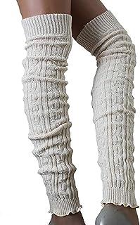 SC-Strümpfe Damen Wollstulpen extra lang