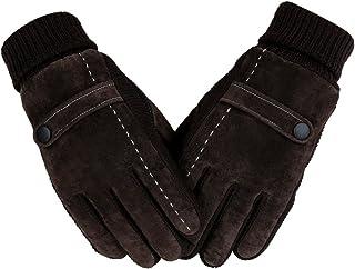 Aodewe Winter Warm Windproof Gloves Men Outdoor Sports Full Finger Riding Glove