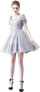 Zhengpingpai Mesh Set Female Waist Slimming Dress Temperament Svelte Floral a Word Skirt