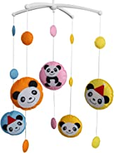 Handmade Baby Music Mobile Crib Early Education Toy -Round Panda