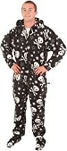 Forever Lazy Footed Adult Onesies, One-Piece Pajama Jumpsuits for Men and Women, Unisex. with Detachable Feet.