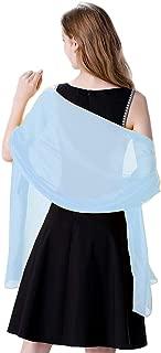 Soft Chiffon Scarve Shawls Wraps for Dresses Women Accessories