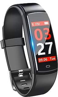 【令和改良版】 スマートウォッチ 心拍 歩数計 カラースクリーン IP67防水 スマートブレスレット ランニングモード 活動量計 20種類アラーム設定可 電話着信 Line通知 睡眠検測  遠隔カメラ iphone/Android 日本語対応