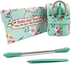 Bella And Bear Facial Hair Remover For Women - Hair Remover - Tweezers - Travel Pouch