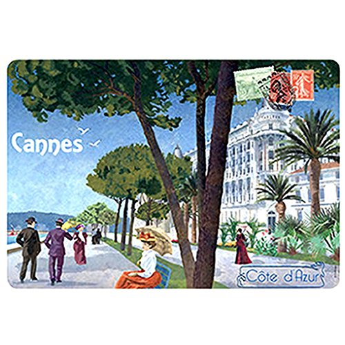 Souvenirs de France - Magnet Métal 'Cannes'