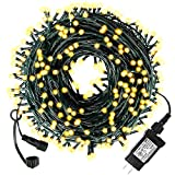Diojilad Solar Christmas Lights Outdoor Indoor Christmas Decoration Lights 105Ft 300LED, 8 Modes Waterproof Fairy Lights for Christmas Tree, Wedding, Party (Multicolor)
