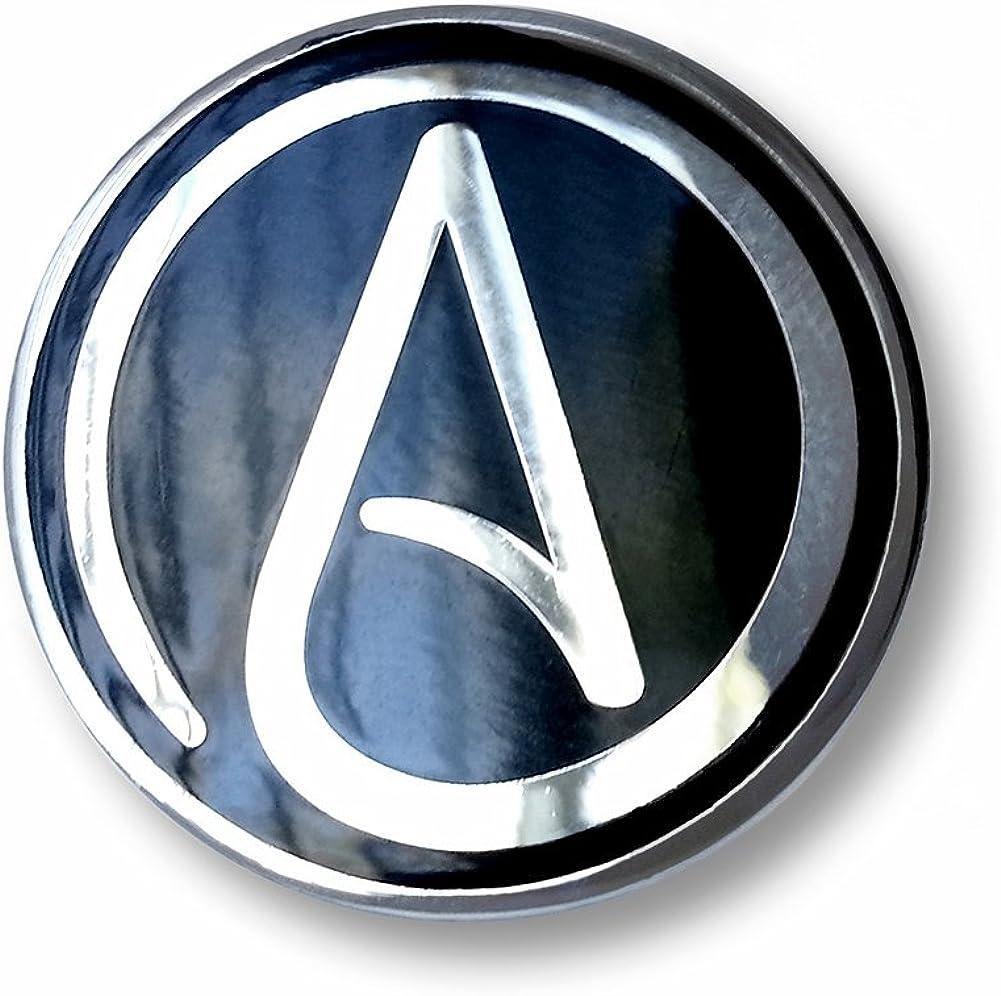 Max 83% OFF Atheist trend rank Symbol Enamel Lapel Pin