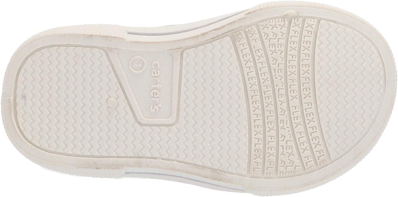 carter's Boys' Damon Casual Slip-on Sneaker Skate Shoe, Light Grey