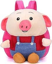 Pig Plush backpack Preschool Schoolbag for Kids girls Carry Bag