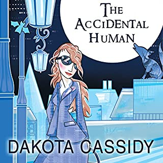 The Accidental Human audiobook cover art
