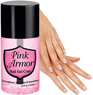 Pink Armour Nail Nutrition Gel Polish Remedy Fix Protective Layer Keratin Gel
