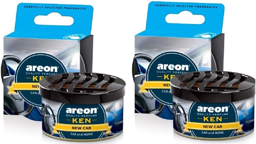 Lufterfrischer 2 X Areon Ken Neuer Wagen Duft Auto