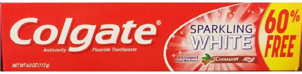 Colgate Anticavity Fluoride Toothpaste Ranking TOP14 White Cinnamint Max 68% OFF Sparkling