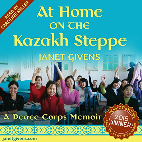 At Home on the Kazakh Steppe audiobook cover art