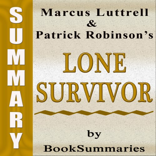 Summary, Review & Analysis: Lone Survivor audiobook cover art