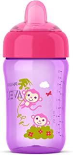 Philips Avent My Sip N Click Cup, 12oz, Pink/Purple, 1pk,...