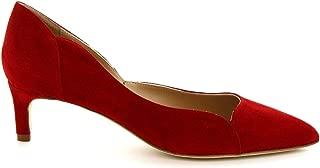 LEONARDO SHOES Luxury Fashion Womens MELEINACAMOSCIORED Red Pumps   Season Permanent