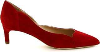 LEONARDO SHOES Luxury Fashion Womens MELEINACAMOSCIORED Red Pumps | Season Permanent