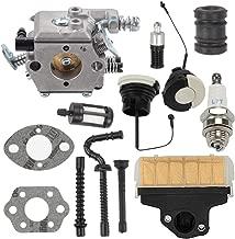 ATVATP MS 250 Carburetor fit Stihl MS250 Carburetor MS210 MS230 021 023 025 Chainsaw WT-286 & 1123 160 1650 Air Filter 0000 350 0525 0000 350 0526 Oil Gas Cap