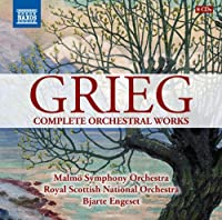 Grieg: Complete Orchestral Works [Bjarte Engeset] [Naxos: 8.508015] by Malmo Symphony Orchestra (2014-05-27)