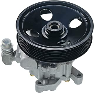 A-Premium Power Steering Pump with Pulley for Mercedes-Benz E320 2003-2005 E500 E55 AMG CL500 S600