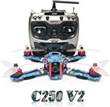ARRIS C250 V2 250mm RC Quadcopter FPV Racing Drone RTF w/Flycolor 4-in-1 S-Tower + Radiolink AT9 + 4S Battery + HD Camera