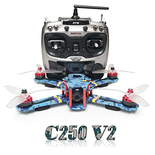 abbd7125d999 ARRIS C250 V2 250mm RC Quadcopter FPV Racing Drone RTF w Flycolor 4-in