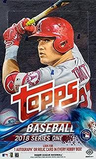 Topps 2018 Series 1 Hobby Box
