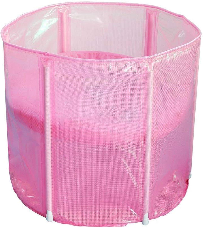 Bathtub, Pools Warm Adult Folding 70  60cm Inflatable Bathtubs -,- Tub