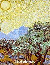 """Notebook: Vincent Van Gogh Notebook Journal To Write In 8,5x11"""" 100 Lined Pages - Cool Artist Gifts"""