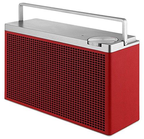 Geneva Touring M Tragbarer Bluetooth HiFi Lautsprecher , Rot