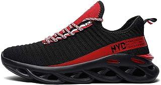 Hombre Zapatillas Moda Sneaker Entrenador Transpirable Zapatos Casuales para Caminar al Aire Libre