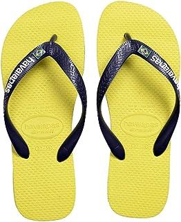 Havaianas Unisex Kid's HAV Brasil Layers Citrus Yellow Flip-Flop