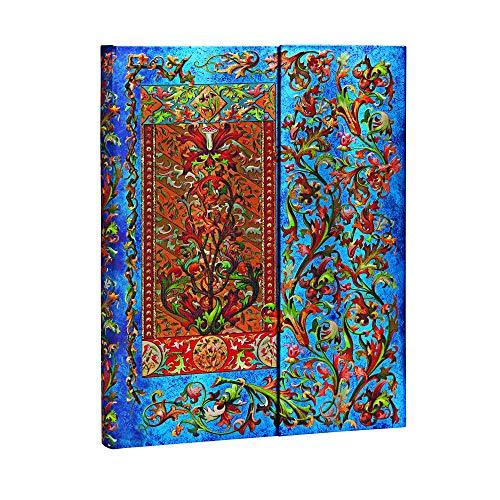 Paperblanks - Florentiner Kaskade Delphinium - Notizbuch Ultra Unliniert