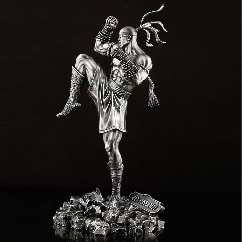 tiendas minoristas LICCC LOL Hero Hero Hero to High Boxing Champion Li Qing Modelo Imitación de Hierro Estatua 30 cm Ornamento de Anime  Entrega gratuita y rápida disponible.