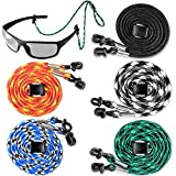 Eyeglasses String Holder Strap Cord - Eyeglass Chain for Men Women - Glasses Lanyard Holders Around Neck - Sports Eye Glass Straps Sunglass Retainer
