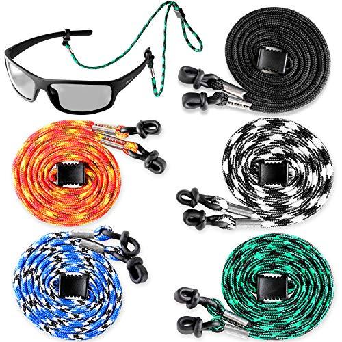 Eyeglasses String Holder Strap Cord - Eyeglass Chain for Men Women - Glasses Lanyard Holders Around Neck - Sports Eye Glass Straps Sunglass Retainer