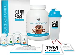 Yes You Can! Transform Kit: On-The-Go 30 Servings, Once a Day, Contains: One Complete Meal Replacement Coffee, One Slim Do...