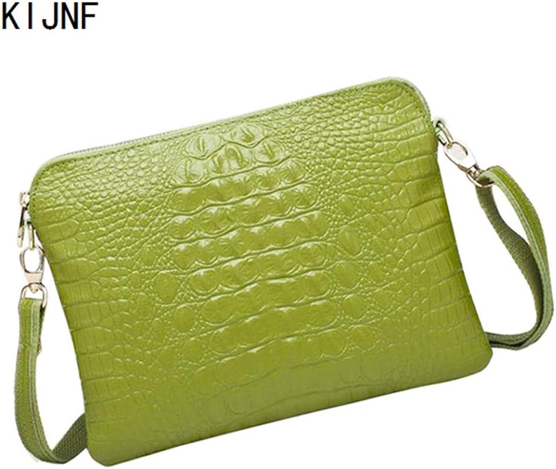 KIJNF KIJNF KIJNF Handtasche Frauen Messenger Echtes Leder Mini Taschen Handtaschen Designer Umhängetaschen Interior, 26Cm  20Cm  2Cm B07JPHT4GT  Aktuelle Form 1ca64f