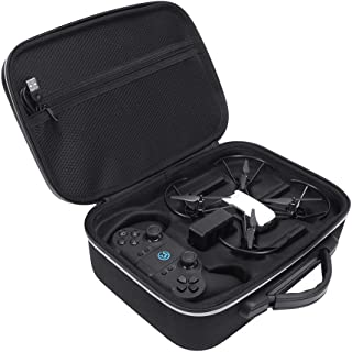 Bimoon Hard EVA Carrying Case for DJI Tello Quadcopter Drone Remote Controller and Fly Carry Bag Protective Box