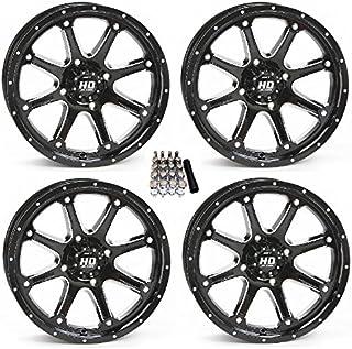 "STI HD4 UTV Wheels/Rims Black 14"" Polaris RZR 1000 XP/Ranger XP 900/1000"