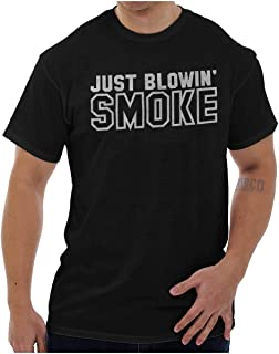 Brisco Brands Just Blowing Smoke Country Music Redneck T Shirt Tee