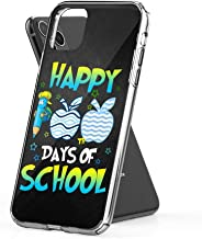 Case Phone Happy 100th Day of School for Teacher Kid (6.5-inch Diagonal Compatible with iPhone 11 Pro Max)