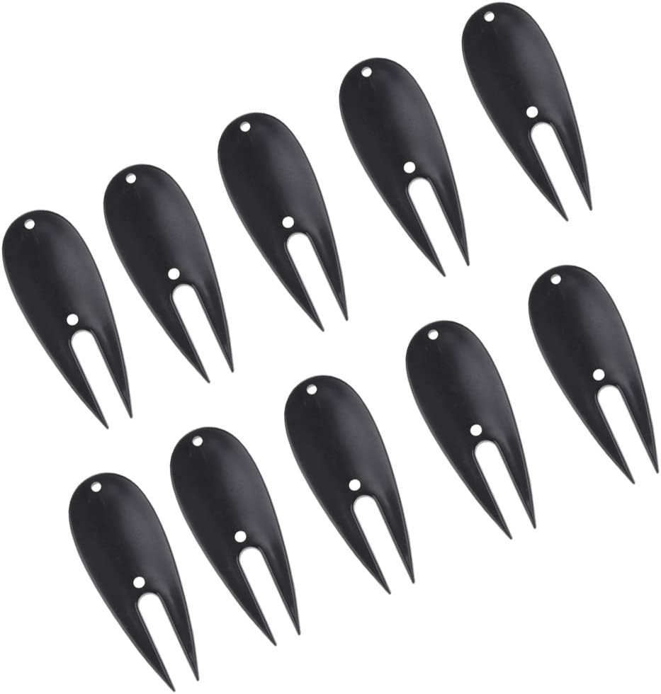 Sales for sale Dovewill 10 Pieces Ranking TOP3 Plastic Golf Putting Re Tool Green Divot Lawn