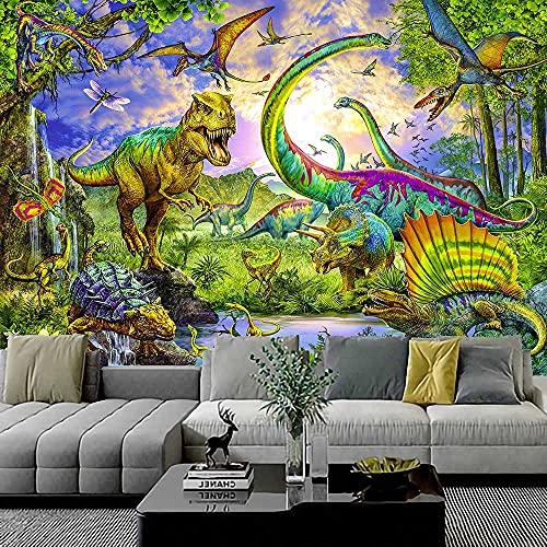 Tapiz de dinosaurio Tapiz de mandala Tapiz de encaje hippie Colgante de pared Decoración bohemia Tapiz de brujería Tela colgante A3 150x200cm