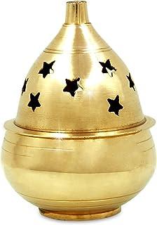 Shubhkart kuber Goblet, Handmade Brass akhand Oil Diya, Brass Oil lamp
