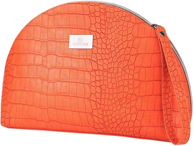Jet Set Travel Large Flat Multifunction Phone Case Wristlet Shell Purse Handbags Clutch Bags Fashion Crocodile Pattern