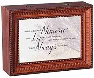 Roman Beautiful Memories Brown Large Music Box